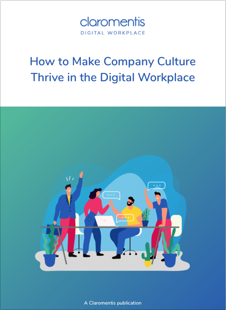 How to Make Company Culture Thrive in the Digital Workplace cover