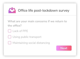post lockdown survey